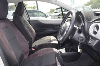 2014 Toyota Yaris NCP131R YRS Silver 4 Speed Automatic Hatchback