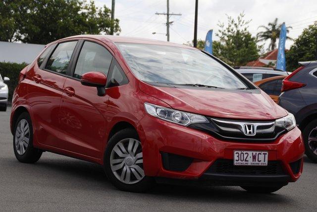 Used Honda Jazz GF MY15 VTi Mount Gravatt, 2015 Honda Jazz GF MY15 VTi Red 1 Speed Constant Variable Hatchback