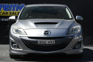 2010 Mazda 3 BL1031 MPS Luxury Silver 6 Speed Manual Hatchback.
