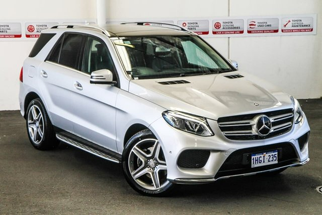 Pre-Owned Mercedes-Benz GLE350D 166 Rockingham, 2016 Mercedes-Benz GLE350D 166 Silver 9 Speed Automatic Wagon