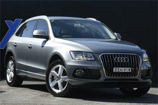 2013 Audi Q5 8R MY13 TDI S Tronic Quattro Grey 7 Speed Sports Automatic Dual Clutch Wagon.