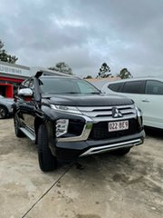 2021 Mitsubishi Pajero Sport QF MY21 GLS Pitch Black 8 Speed Sports Automatic Wagon.