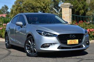 2017 Mazda 3 BN5238 SP25 SKYACTIV-Drive Astina Silver 6 Speed Sports Automatic Sedan.