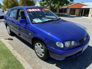 2000 Toyota Corolla AE112R Ascent Seca Blue 4 Speed Automatic Liftback