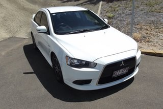 2015 Mitsubishi Lancer CJ MY15 ES Sport White 6 Speed Constant Variable Sedan.
