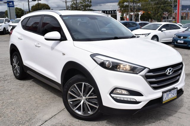 Used Hyundai Tucson TL Active X 2WD Ferntree Gully, 2016 Hyundai Tucson TL Active X 2WD White 6 Speed Sports Automatic Wagon