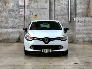 2016 Renault Clio IV B98 Expression EDC White 6 Speed Sports Automatic Dual Clutch Hatchback.