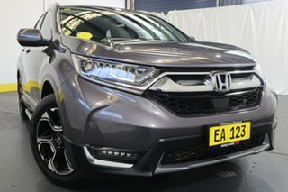 2017 Honda CR-V RW MY18 VTi-LX 4WD Grey 1 Speed Constant Variable Wagon.