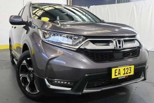 Used Honda CR-V RW MY18 VTi-LX 4WD Castle Hill, 2017 Honda CR-V RW MY18 VTi-LX 4WD Grey 1 Speed Constant Variable Wagon