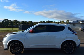 2018 Nissan Juke F15 MY18 NISMO X-tronic AWD RS White 8 Speed Constant Variable Hatchback