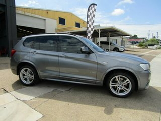 2012 BMW X3 F25 MY0412 xDrive30d Steptronic Grey 8 Speed Automatic Wagon