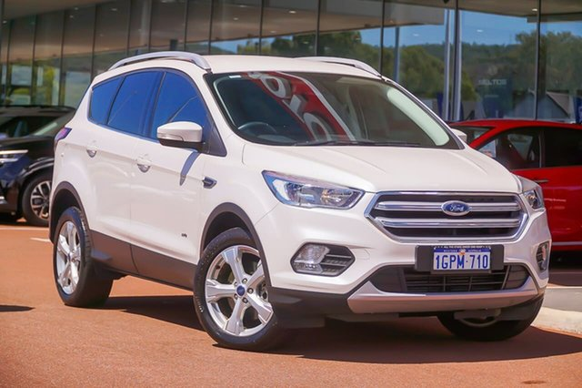 Used Ford Escape ZG 2018.00MY Trend Gosnells, 2018 Ford Escape ZG 2018.00MY Trend White 6 Speed Sports Automatic Dual Clutch SUV