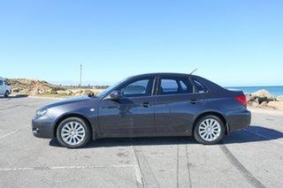 2009 Subaru Impreza G3 MY09 R AWD Grey 5 Speed Manual Sedan