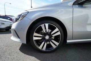 2016 Mercedes-Benz A200 176 MY17 Polar Silver 7 Speed Automatic Hatchback.