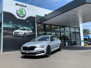 2021 Skoda Superb NP MY21 206TSI Sedan DSG SportLine Silver 6 Speed Sports Automatic Dual Clutch