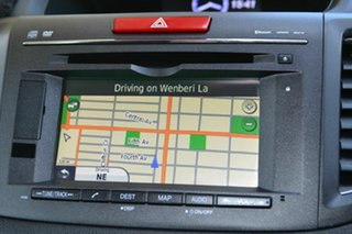 2013 Honda CR-V RM VTi-L 4WD Silver 5 Speed Automatic Wagon