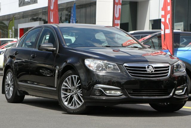 Used Holden Calais VF II MY16 V Aspley, 2016 Holden Calais VF II MY16 V Black 6 Speed Sports Automatic Sedan