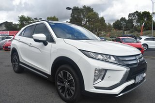 2020 Mitsubishi Eclipse Cross YA MY20 Exceed AWD White 8 Speed Constant Variable Wagon.