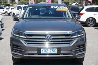 2019 Volkswagen Touareg CR MY20 190TDI Tiptronic 4MOTION Grey 8 Speed Sports Automatic Wagon.
