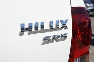 2016 Toyota Hilux GUN126R SR5 Double Cab White 6 Speed Manual Utility
