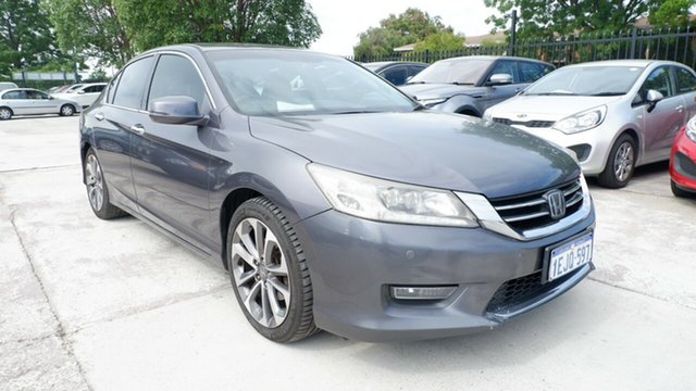 Used Honda Accord 9th Gen MY13 V6L St James, 2013 Honda Accord 9th Gen MY13 V6L Silver 6 Speed Sports Automatic Sedan