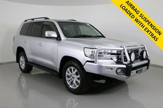 2018 Toyota Landcruiser VDJ200R LC200 VX (4x4) Silver 6 Speed Automatic Wagon.