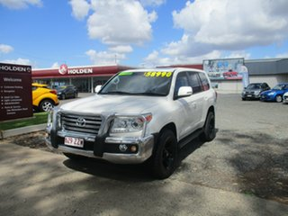 2012 Toyota Landcruiser UZJ200R MY10 VX White 5 Speed Sports Automatic Wagon