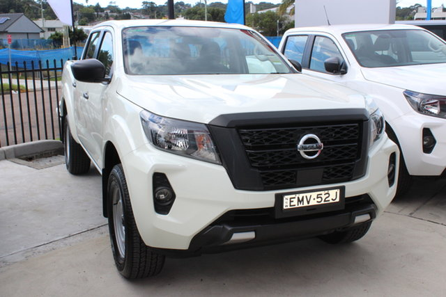 Demo Nissan Navara D23 MY21 SL Cardiff, 2021 Nissan Navara D23 MY21 SL White Diamond 7 Speed Sports Automatic Utility