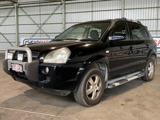 2007 Hyundai Tucson JM MY07 City SX Black 4 Speed Sports Automatic Wagon.