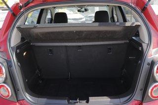 2013 Holden Barina TM MY13 CD Velevet Red 5 Speed Manual Hatchback