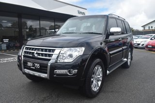 2020 Mitsubishi Pajero NX MY21 Exceed Pitch Black 5 Speed Sports Automatic Wagon