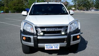 2016 Isuzu D-MAX MY17 SX Crew Cab 4x2 High Ride White 6 Speed Sports Automatic Utility.
