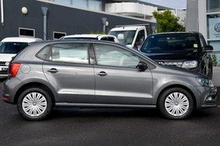 2016 Volkswagen Polo 6R MY17 66TSI DSG Trendline Grey 7 Speed Sports Automatic Dual Clutch Hatchback.