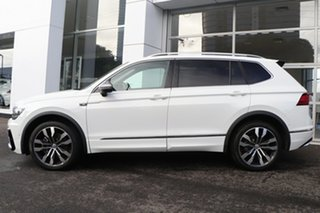 2020 Volkswagen Tiguan 5N MY21 162TSI Highline DSG 4MOTION Allspace White 7 Speed