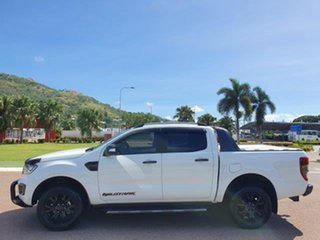 2018 Ford Ranger PX MkIII 2019.00MY Wildtrak Frozen White 10 Speed Sports Automatic Utility