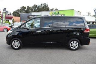 2017 LDV G10 SV7C Obsidian Black/light Grey 6 Speed Sports Automatic Van