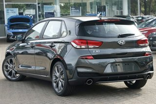 2020 Hyundai i30 PD.V4 MY21 N Line D-CT Amazon Gray 7 Speed Sports Automatic Dual Clutch Hatchback.