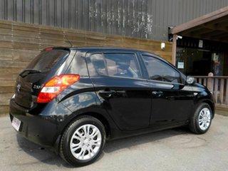 2012 Hyundai i20 PB MY12 Active Black 5 Speed Manual Hatchback