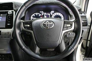 2019 Toyota Landcruiser GDJ150R MY18 Prado GXL (prem Int) (4x4) Crystal Pearl 6 Speed Automatic