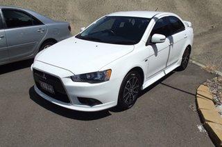 2015 Mitsubishi Lancer CJ MY15 ES Sport White 6 Speed Constant Variable Sedan.