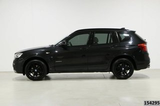 2017 BMW X3 F25 MY17 xDrive20d Black 8 Speed Automatic Wagon