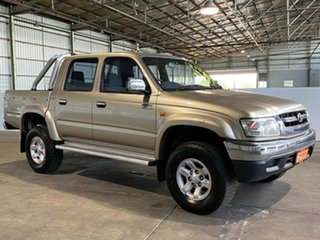 2004 Toyota Hilux VZN167R MY04 SR5 Gold 4 Speed Automatic Utility.