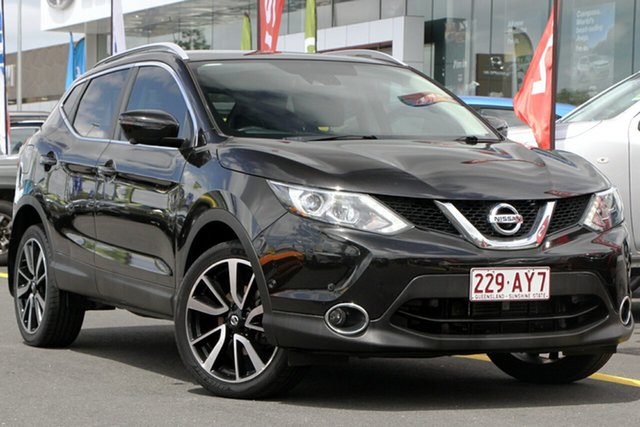 Used Nissan Qashqai J11 TI Aspley, 2017 Nissan Qashqai J11 TI Black 1 Speed Constant Variable Wagon