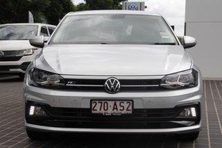 2020 Volkswagen Polo AW MY21 85TSI DSG Comfortline Reflex Silver 7 Speed.