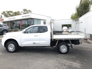 2016 Nissan Navara NP300 D23 RX (4x4) White 6 Speed Manual King Cab Chassis