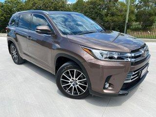 2018 Toyota Kluger GSU55R Grande AWD Brown 8 Speed Sports Automatic Wagon.