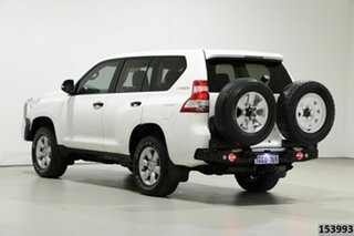 2017 Toyota Landcruiser Prado GDJ150R MY16 GX (4x4) White 6 Speed Automatic Wagon