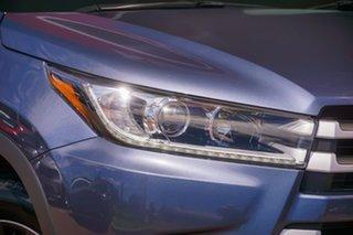 2018 Toyota Kluger GSU55R GX AWD Blue 8 Speed Sports Automatic Wagon.
