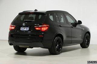 2017 BMW X3 F25 MY17 xDrive20d Black 8 Speed Automatic Wagon