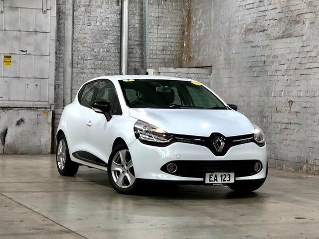 Used Renault Clio IV B98 Expression EDC Mile End South, 2016 Renault Clio IV B98 Expression EDC White 6 Speed Sports Automatic Dual Clutch Hatchback